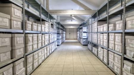 Galvaniz Üretim Arşiv Odası Rafları