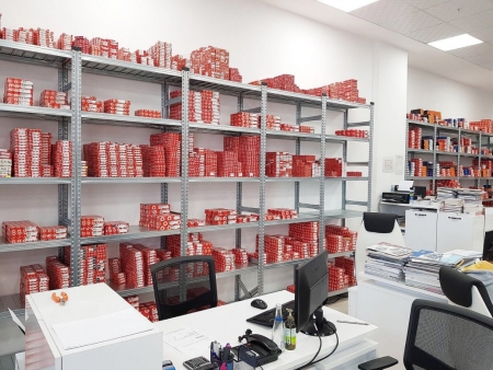 Galvaniz Üretim Otomotiv Yedek Parça Raf Sistemleri